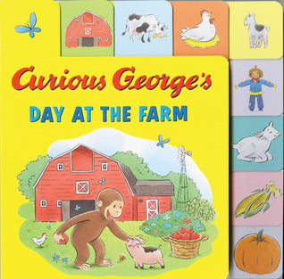 Curious George's Day At The Farm - H.A. Rey (Used)
