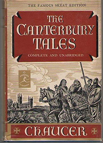 The Canterbury Tales - Geoffrey Chaucer (Used)