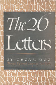 The 26 Letters - Oscar Ogg (Used)