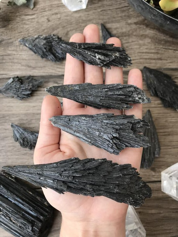 Black Kyanite Crystal