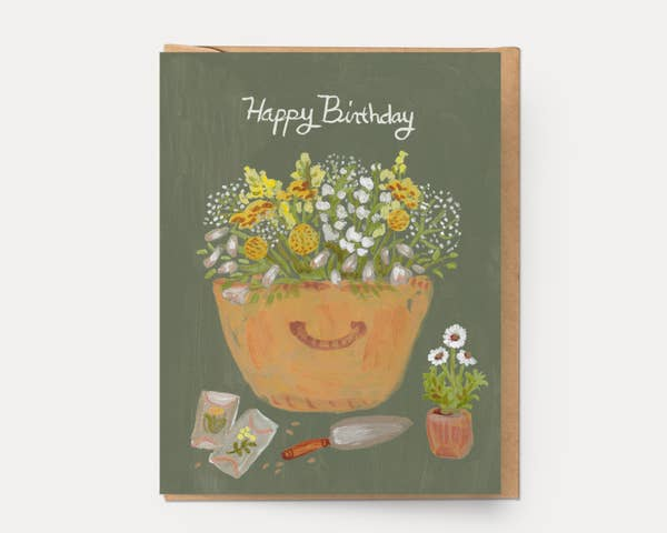 Birthday Basket Card