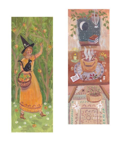 Country Witch Bookmark
