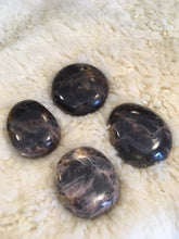 Load image into Gallery viewer, Black Moonstone Palm Stones