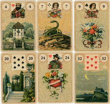 Load image into Gallery viewer, Golden Lenormand Oracle
