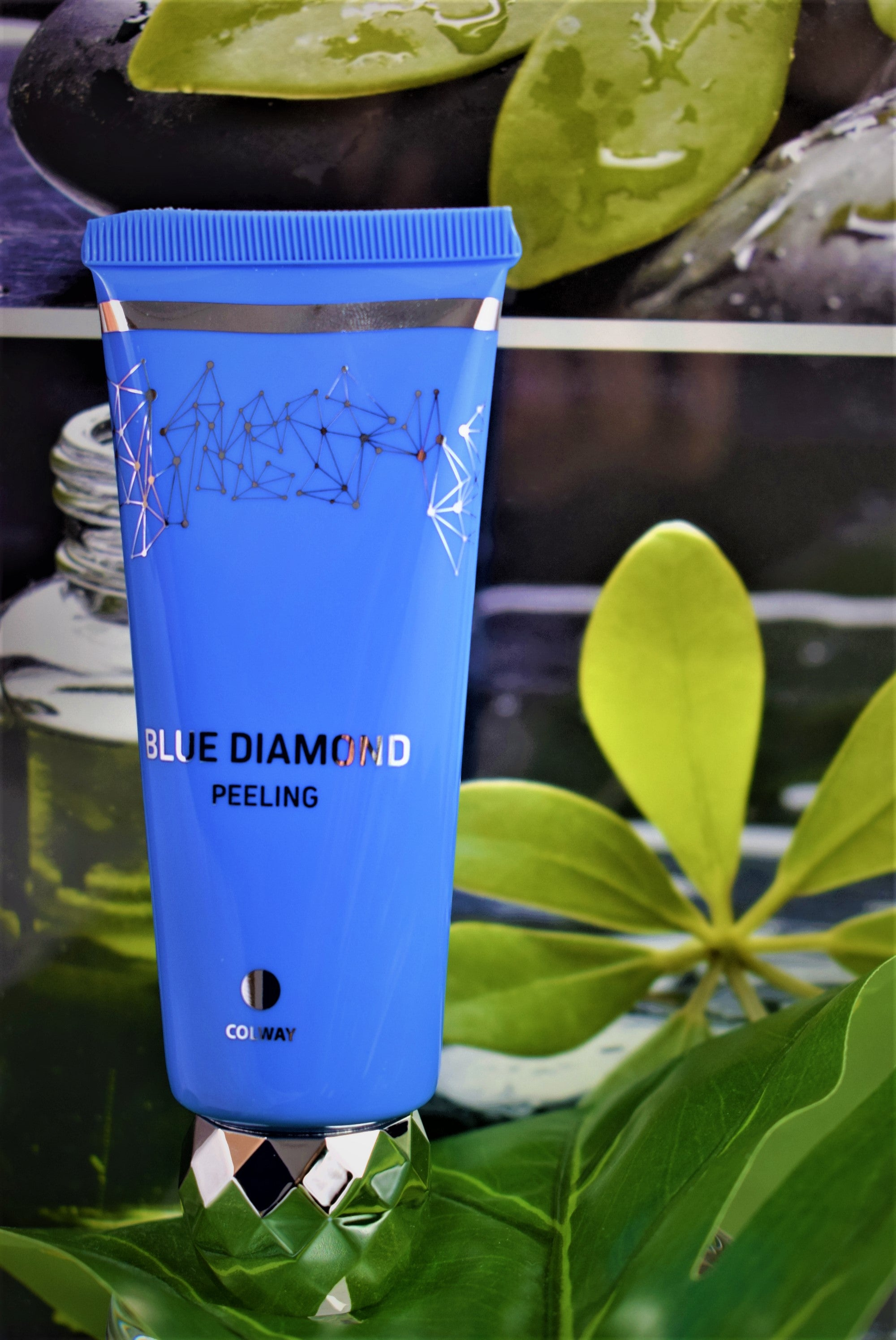 Blue Diamond exfoliante facial con polvo de diamante - colagenonaturalcolway