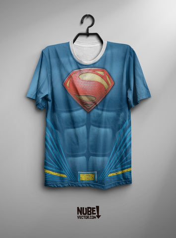 SUPERMAN DISEÑO MÁS MOLDERÍA DIGITAL DE REMERA/PLAYERA