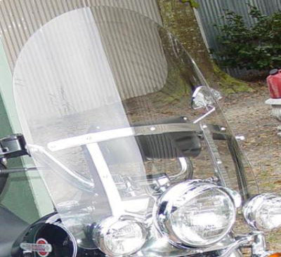 HARLEY DAVIDSON FLSTC HERITAGE SOFTAIL CLASSIC WITHOUT PASSING LAMPS 1986-1999 DETACHABLE WINDSHIELD