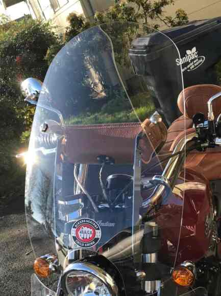 INDIAN SCOUT REPLACEMENT WINDSHIELD QUICK RELEASE 2015-UP