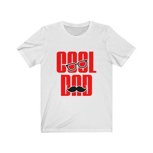 Open image in slideshow, Beam Squad Cool Dad Mustache Unisex Jersey Short Sleeve Tee
