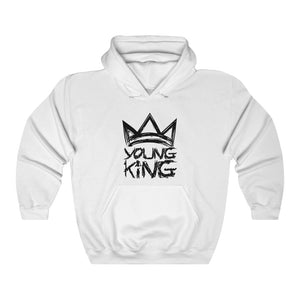 Open image in slideshow, Young King - Adult size Unisex Heavy Blend™ Hooded Sweatshirt