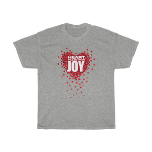 Open image in slideshow, Hearts Filled With Joy- Adult SIze Unisex Heavy Cotton Tee