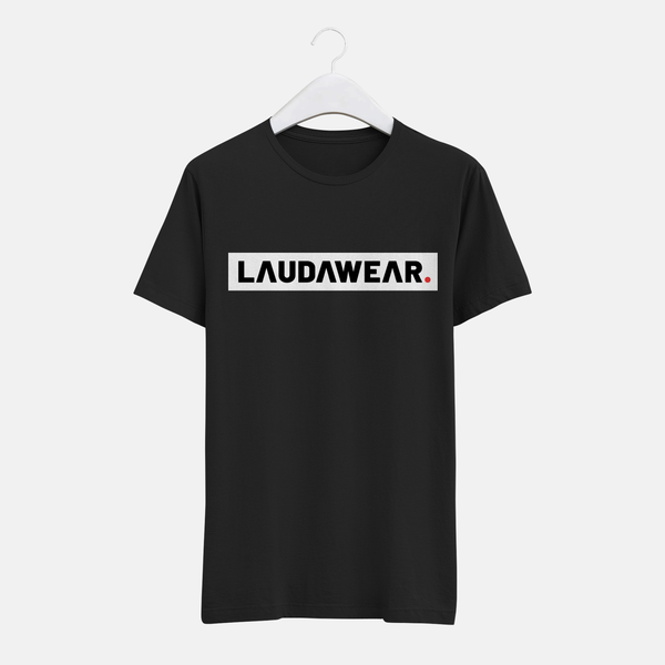 LAUDAWEAR The Brand T-Shirt Black (Unisex)