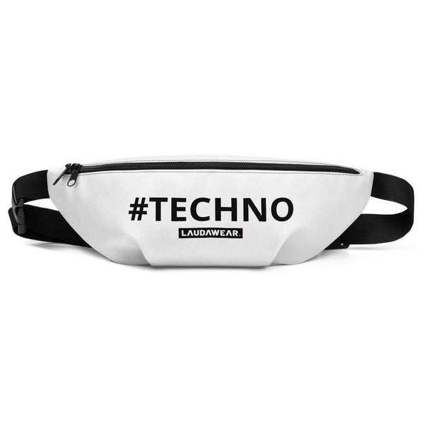 The #TECHNO Fanny Pack Black - LAUDAWEAR