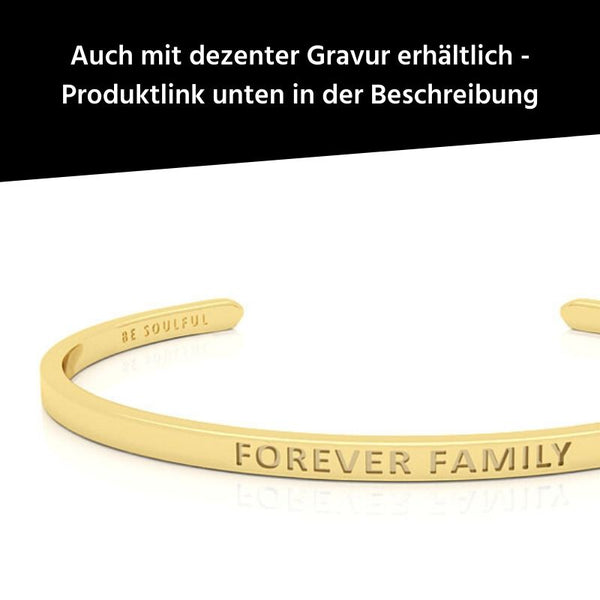 Forever Family Armreif gold blind