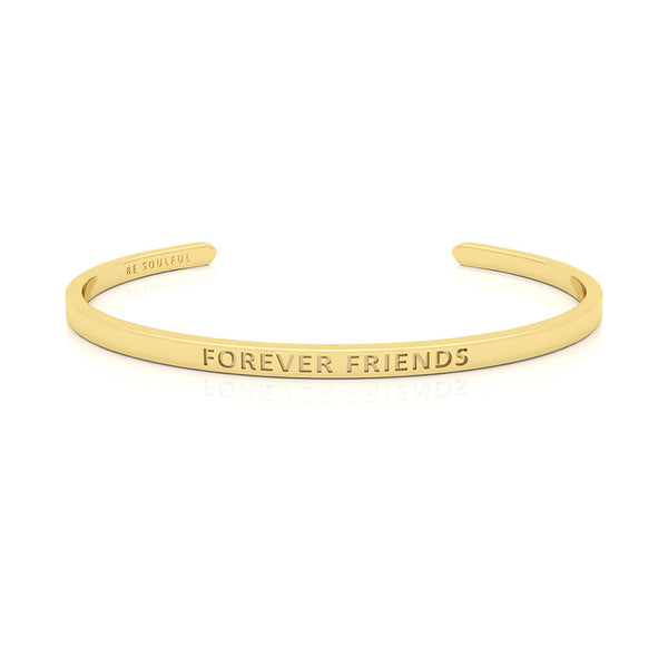 Forever Friends Armband mit Gravur [Blind] Gold