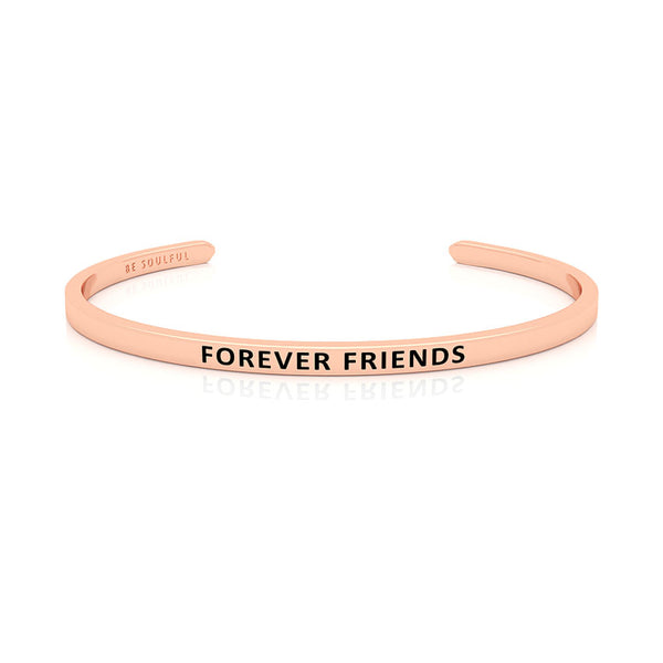 Forever Friends Armband mit Gravur Rosegold