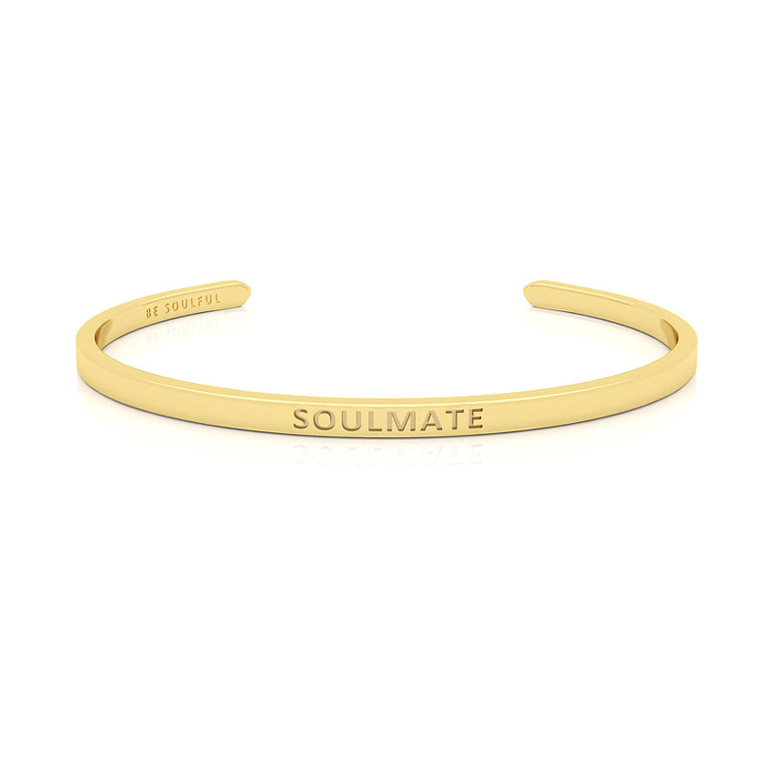 Soulmate Armband mit Gravur [Blind] Gold