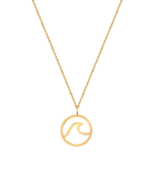 Wave Necklace Rosegold
