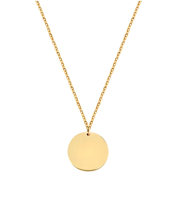Coin Necklace Rosegold