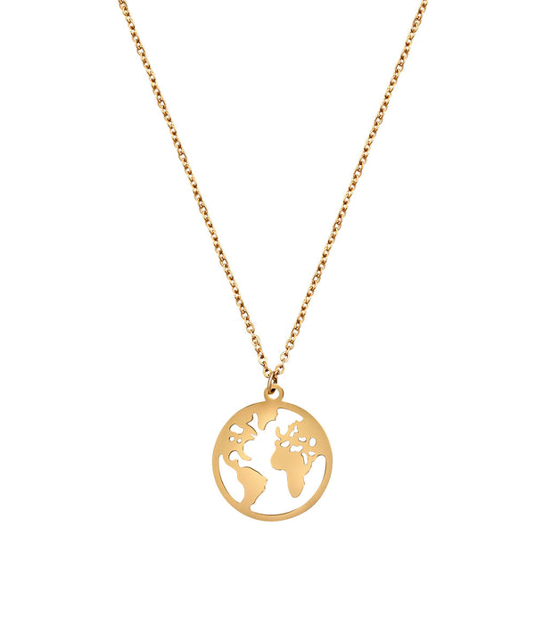 World Necklace Rosegold