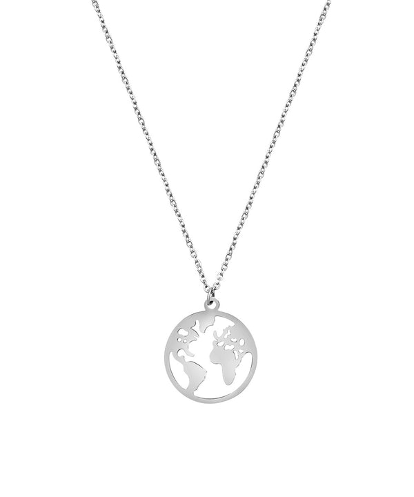 World Necklace Silber