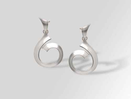 E8450 HEAVY METAL EARRING - Joryel Vera Jewelry