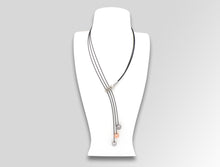 160087597 SWING R/PG SPHERE NECK PIECE - Joryel Vera Jewelry
