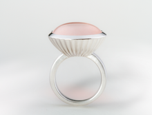 R4734 RING ROSE QUARTZ - Joryel Vera Jewelry
