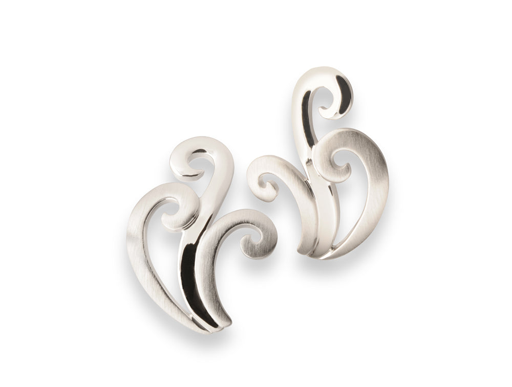 E7808 WIND & SEA SILVER EARRING - Joryel Vera Jewelry