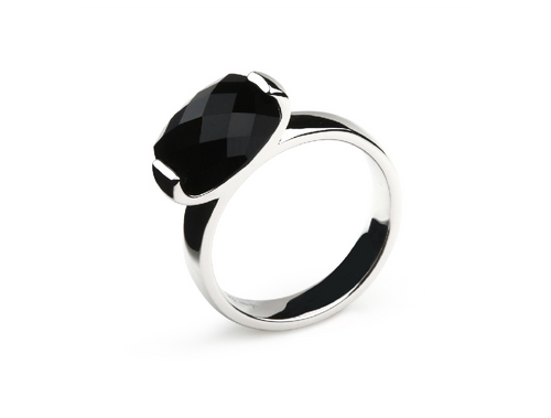 R3678 CLASSIC BLACK ONYX RING - Joryel Vera Jewelry