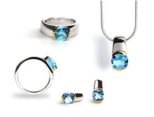CONTEMPORARY CLASSIC BUFF TOP GEMSTONE SET - Joryel Vera Jewelry