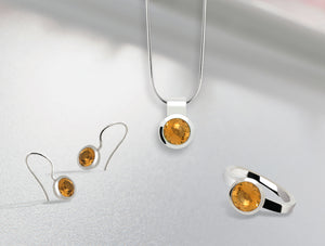 BRILLIANT CUT CITRINE COLLECTION - Joryel Vera Jewelry