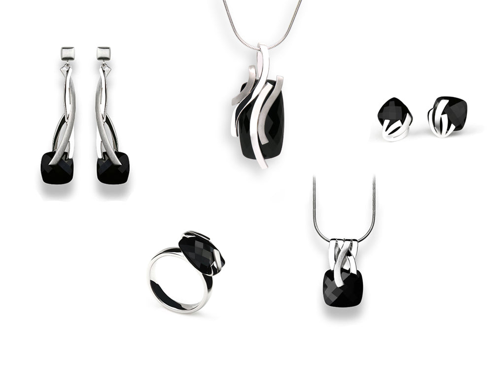 BLACK ONYX SIGNATURE COLLECTION - Joryel Vera Jewelry