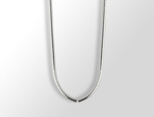16 inches SNAKE CHAIN	NECKLACE - Joryel Vera Jewelry