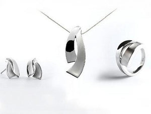 ALL SILVER SCANDINAVIAN DESIGN - Joryel Vera Jewelry