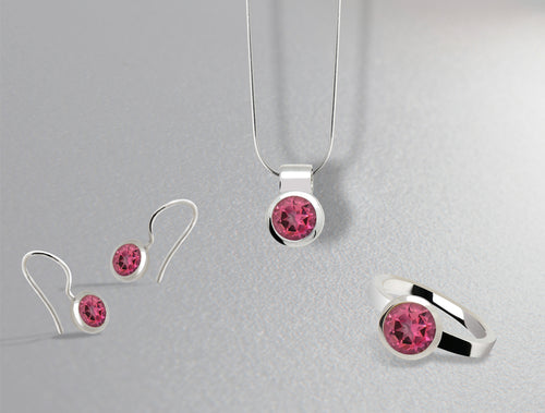 BRILLIANT CUT PINK TOPAZ COLLECTION - Joryel Vera Jewelry