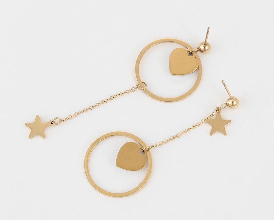 14k Gold plated Handmade Earring