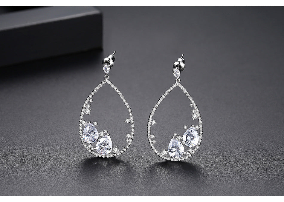Unique Design Bridal Earring