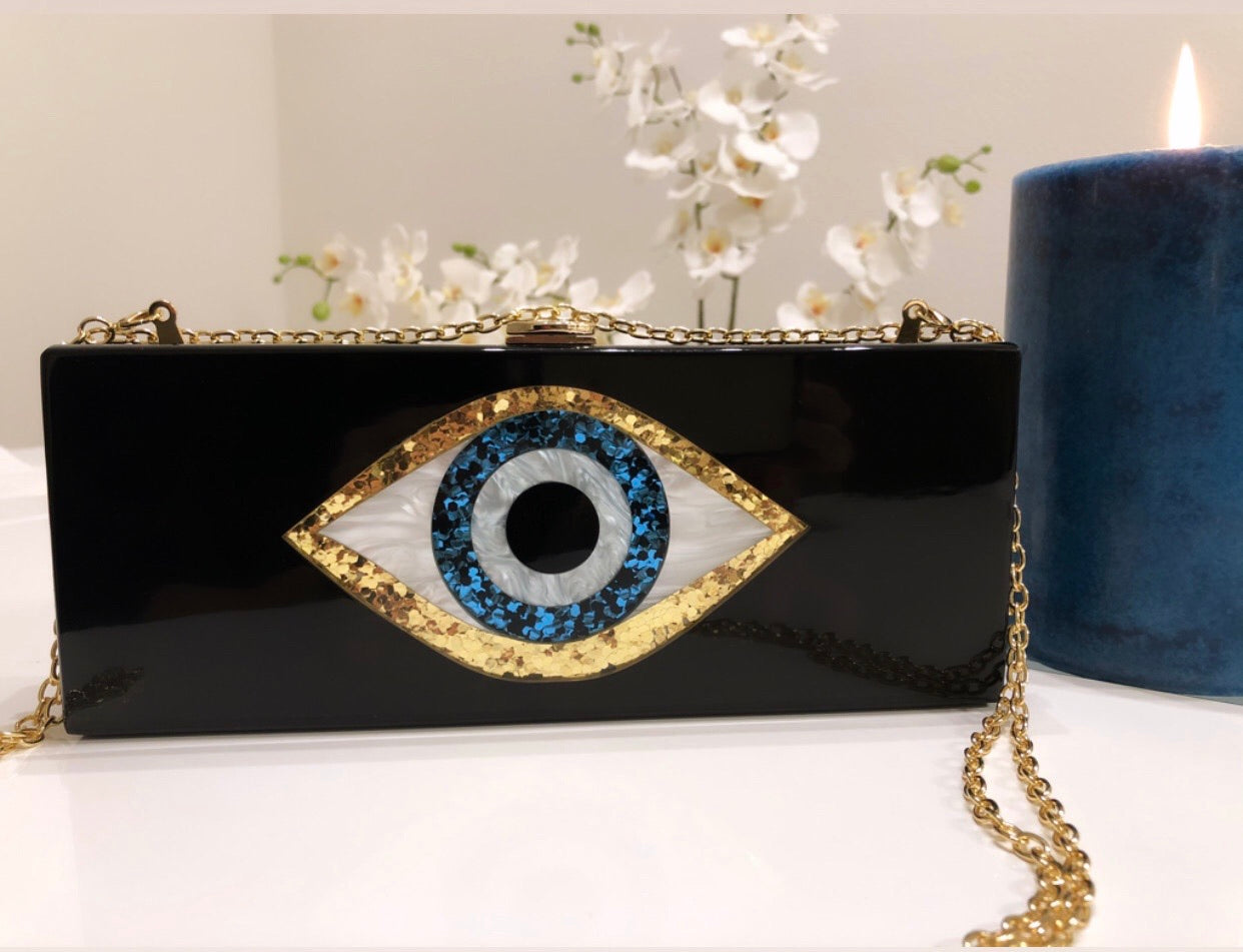 Unique Design Eye Clutch