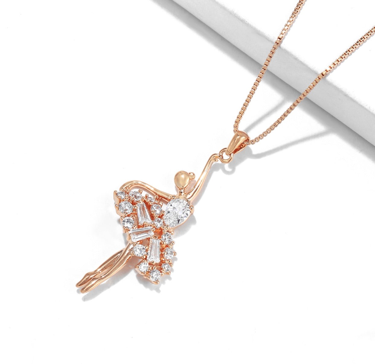 Fashion Dancing Girl Necklace