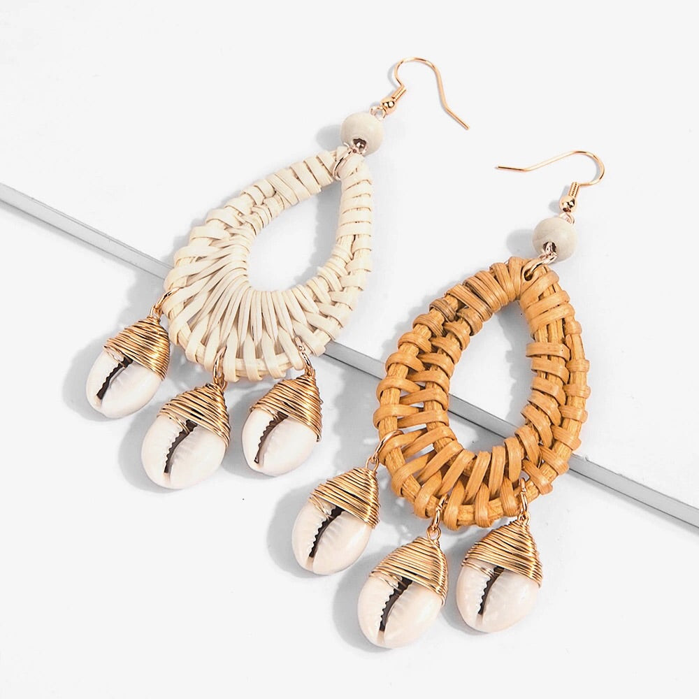 Nova Shell Earrings