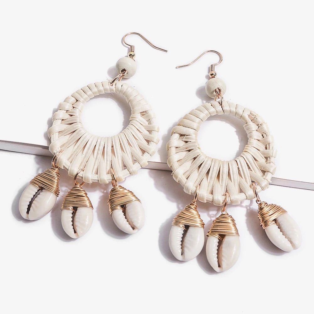 Ulva Shell Earrings