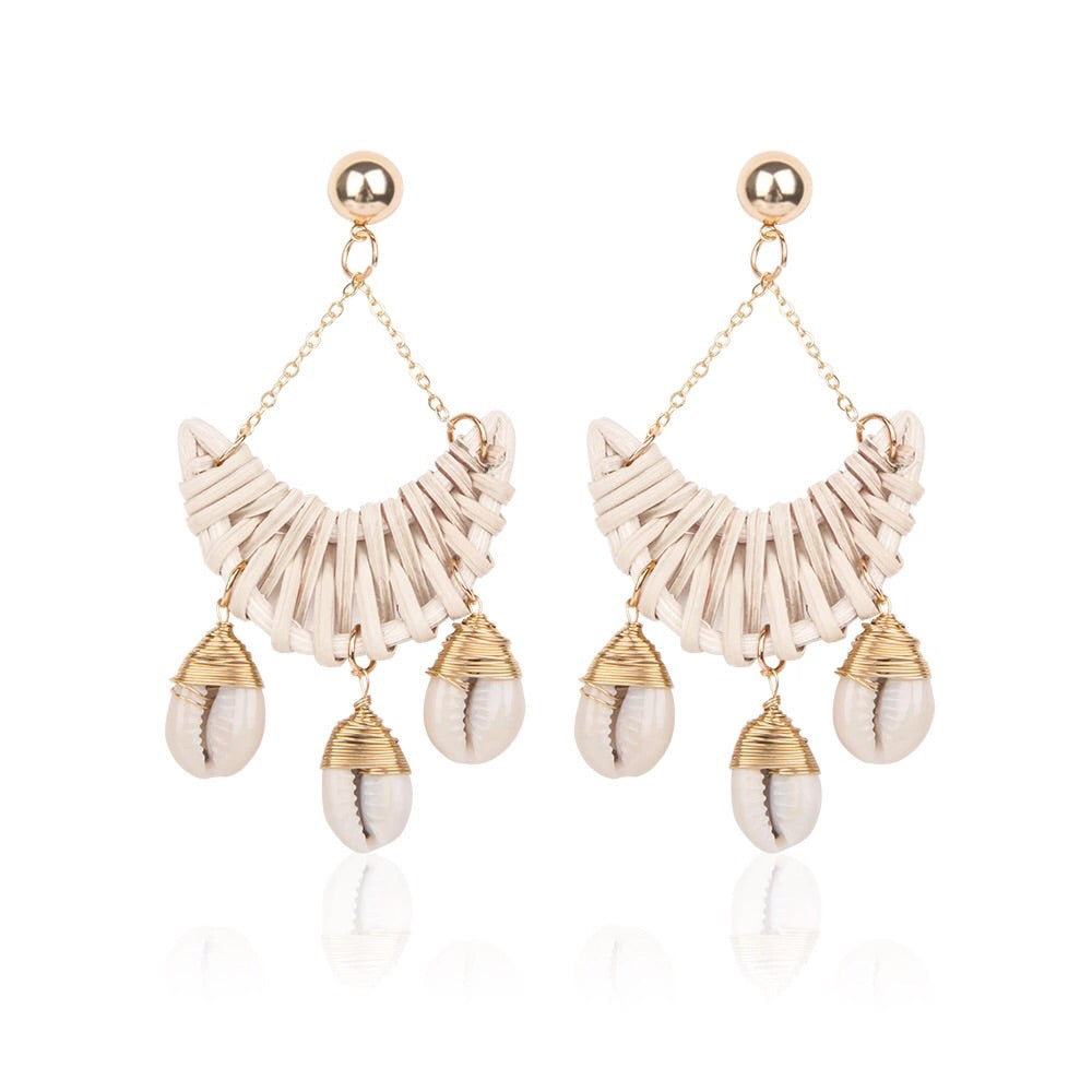 Naomi Shell Earrings