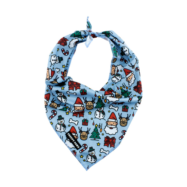 Christmas Cooling Dog Bandana