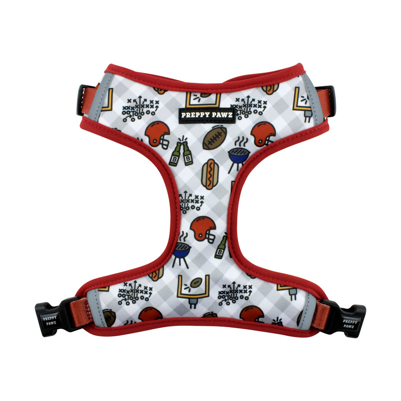 Breathable Adjustable Dog Harness for tailgates
