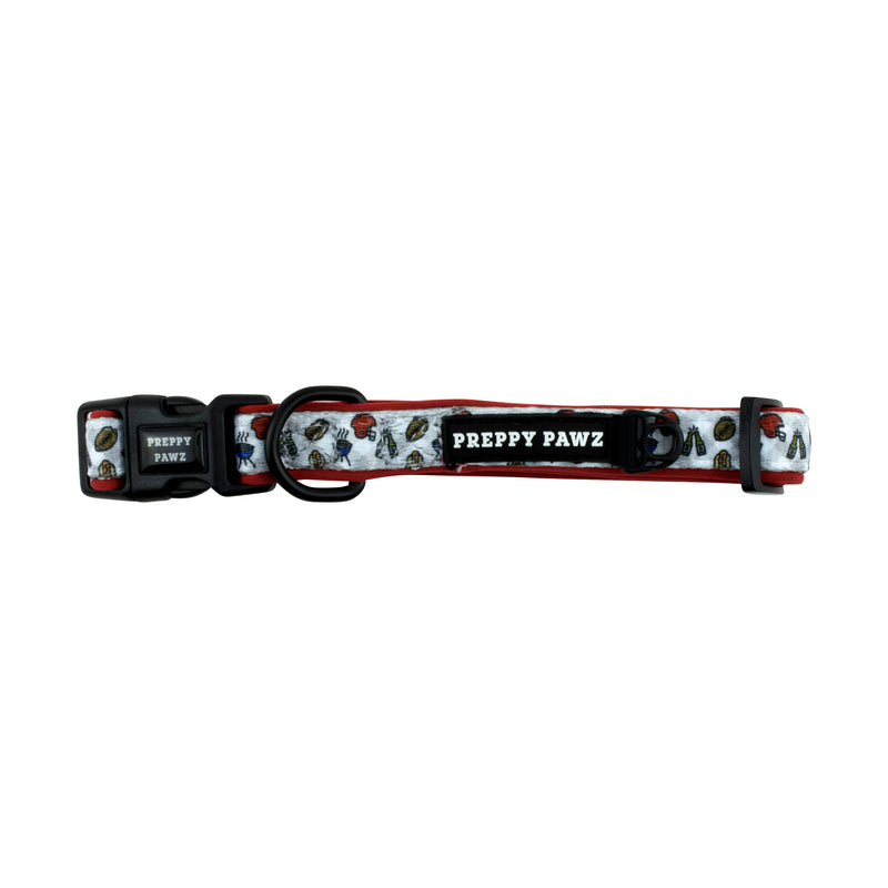 Printed Matching Dog Collar for tailgates