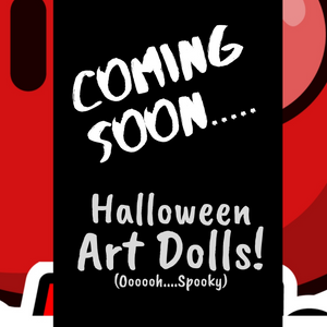 the-dr-apples-store - Mini Art Dolls (Halloween Special) -