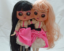 Load image into Gallery viewer, (#24 & 25) 75 Apples Art- Neo Blythe Doll Twins Conjoined Silicone OOAK- BLYTHE Doll Custom TBL