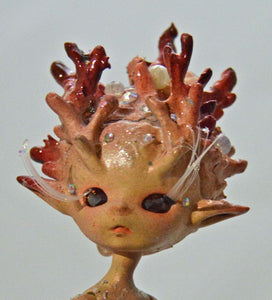 (#27) 75 Apples Art- Resin Doll BJD OOAK