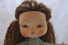 Load image into Gallery viewer, (#8) 75 Apples Art- Large Cloth Doll w/ Blythe/ ICY Mask OOAK